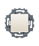 INTERMEDIATE SWITCH 1P 250V ac - QUICK WIRING TERMINALS - 10AX - NEUTRAL - IVORY - DAHLIA