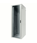 Dulap Rack19''  montaj pe pardoseala - METAL - TRANSPARENT DOOR - 4 POSTS - 30U - 800X1485X800 - RAL 7035 GREY