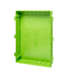 BACK BOX FOR FLUSH MOUNT. ENC. 36M GREEN