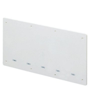 SHOCKPROOF SEALABLE PLAIN LID FOR BOXES FOR UPRIGHTS - DIMENSIONS 520X260