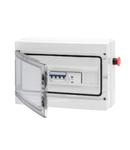 40 CDK ASD BOARD - 298X260X140 - MT+BD 63 A - TRANSPARENT DOOR