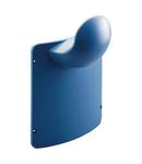 QMC125-200 - SUPPORT FOR FLEXIBLE TUBE - LIGHT BLUE