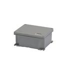 Doza de aluminiu - PAINTED - METALLIC GREY - 128X103X57 - IP66