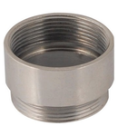 THREADED EXTENSION TUBE - IN BRASS NICKEL PLATED - M40-M40