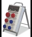 Organizator portabil 3X2P+E 16A 1x3P+E 16a 2X3P+N+E 16A 1X3P+N+E 32A SCAME