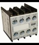 Bloc contacte aux.2ND+2NI  pentru contactori Schrack marimea 0-12