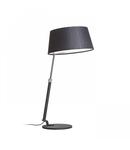 RITZY table negru crom 230V E27 42W