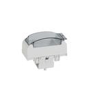 Adaptor pentru modular wiring accessories - pentru snap-on trunking - aluminiu
