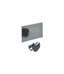 """Additional 7"""" mirror effect LCD colour display pentru video Usa entry kit"""