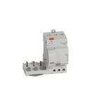 Add-on module DX³ - 3P 400 V~ - 63 A - 30 mA - A type - pentru 1 module DX³ MCB