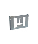ajustabil plate XL³ 4000 - pentru 1 DPX 1600 draw-out - horizontal