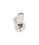 Desk grommet to be equipped - pentru 1 x 2P+E priza + USB phone charger - alb