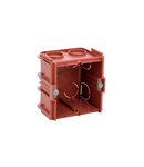 Doza incastrata Batibox - patrat 1 module depth 50 mm - zidarie