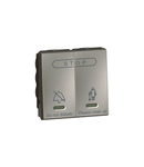 Hotel bedroom call indicator - internal control unit - 2 module - magnesium