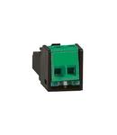 Lighting management - male RJ 45 adaptor pentru SCS BUS cable connection