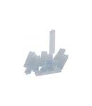 Marker-holder Memocab - pentru wiring - L. 30 mm - section 0.75 to 4 mm²