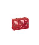 Montaj incastrat box - pentru Vela/Mosaic - 106x71 mm - 3 module