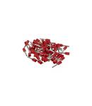 Pini - simplu individual - cross section 1 mm² - rosu