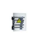 Power distribution block - stepped pentru lugs - 160 A - 4 bars 18 x 4 mm