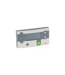 Secondary control unit Mosaic - pentru room or corridor - 4 module - Antimicrobial