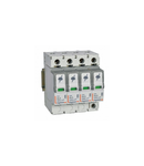 Descarcator SPD - protection of main distribution board - T1+T2 - limp 8 kA/pole - 4P