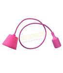 Dulie cu fir E27/1,0m (pendul) – roz
