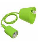 Dulie cu fir E27/1,0m (pendul) – verde deschis