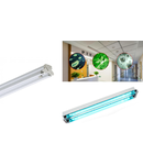 Lampa TUV T8/2x20w (echipat cu lampi TUV 20w/T8/UV-C) Philips – germicidala/sterilizanta