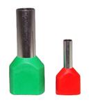 Papuci tip PIN dublu 1,5mm TE1508 (100buc)
