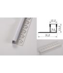 Profil led aluminiu PXG- 301/1 – ingropat/gips carton/1m