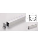 Profil led aluminiu PXG-3535M/1 – aplicat/1m