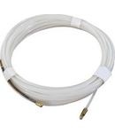 Sarma tras cablu 15m/3mm – Nylon alb (sonda)