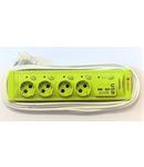 Vipex 43038 Prel suco (3×1,0mm) 4P 5m USB intrerupator