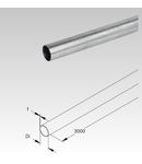 Tub metalic din otel zincat la cald pentru cabluri electrice,D.ext.16 mm