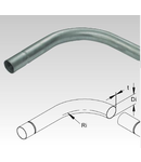 Cot pentru tub metalic din otel zincat la cald pentru cabluri electrice,D.ext.16 mm
