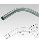 Cot pentru tub metalic din otel zincat la cald pentru cabluri electrice,D.ext.32 mm