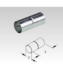 Mufa pentru tub metalic din otel zincat la cald pentru cabluri electrice,D.ext.16 mm