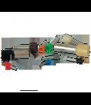 PINI TERMINALI IZOLATI E 1510/NEGRU (100 bucati/set) 1.5mmp