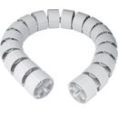 Protecție verticală cablu, flexibilă, 70 mm, 1 m, RAL7035