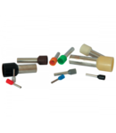 PINI TERMINALI IZOLATI E 6018/VERDE (100 bucati/set) 6 mmp