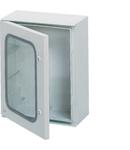 Tablou poliester IP65 24M 350x300x160, ușă transparentă
