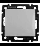 Comutator cap scara alb IP44 10Ax Legrand Valena