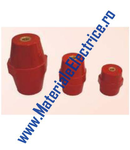 Izolator bara de cupru D-15mm H-20mm M5