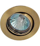 Spot halogen bronz mobil 6015