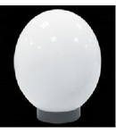 Corp de iluminat glob transparent 20CM+soclu