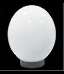 Corp de iluminat glob transparent 25CM+soclu