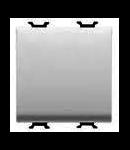Intrerupator 1P 250V ac - 16AX - NEUTRAL - 2 MODULES - WHITE - CHORUS