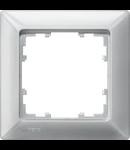 Placa ornament 1 modul aluminiu metalic SIEMENS Delta