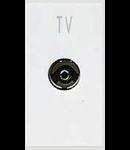 Priza tv  directa 1 modul alba  Ave 45
