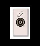 Priza tv satelit mama directa 1 modul alba  Ave 45